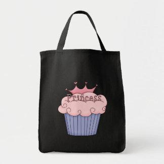 cupcake princess grocery tote