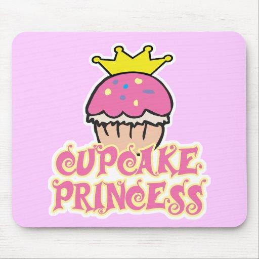Cupcake Princess Mouse Pad