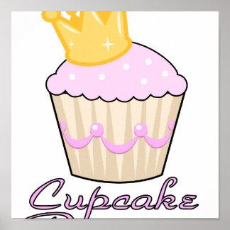 cupcake princess print