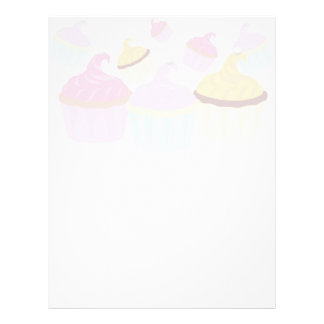 Cupcake products Fun and Fanciful Letterhead