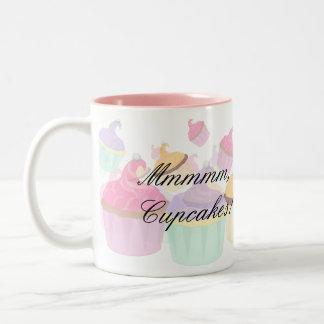 Cupcake products Fun and Fanciful Two-Tone Coffee Mug