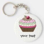 cupcake products keychain