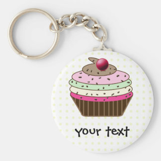 cupcake products keychain