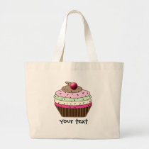 cupcake products large tote bag