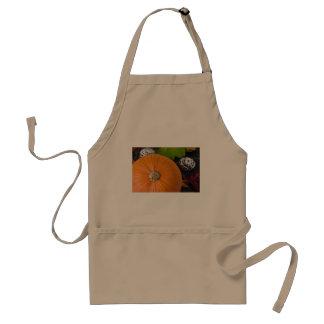 Cupcake & pumpkin adult apron