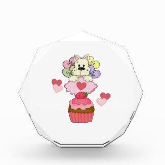Cupcake Puppy Dog Valentines Award