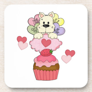 Cupcake Puppy Love Coaster