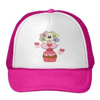 Cupcake Puppy Love Trucker Hats