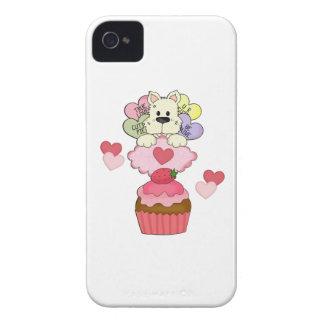 Cupcake Puppy Valentines Blackberry Bold Case