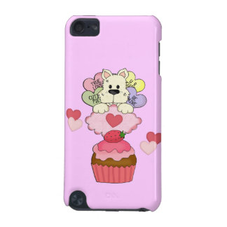 Cupcake Puppy Valentines iPod Touch (5th Generation) Cover