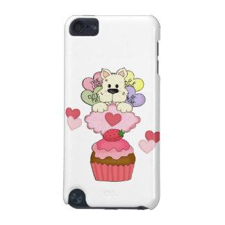 Cupcake Puppy Valentines iPod Touch 5G Case