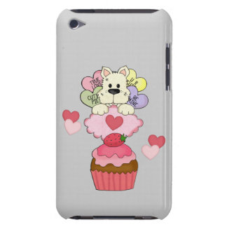 Cupcake Puppy Valentines iPod Touch Covers