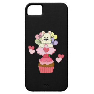 Cupcake Puppy Valentines iPhone SE/5/5s Case