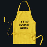 "Cupcake Queen Aprons for women | yellow<br><div class=""desc"">Cupcake Queen Aprons for women 