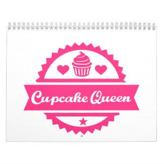 Cupcake Queen Wall Calendar