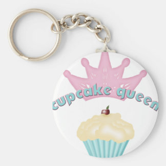 Cupcake Queen Key Ring Key Chains