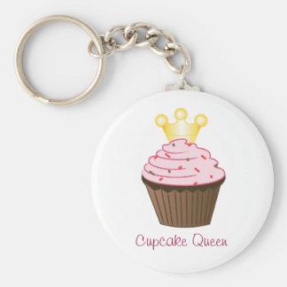 Cupcake Queen Keychain