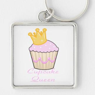 cupcake queen key chain