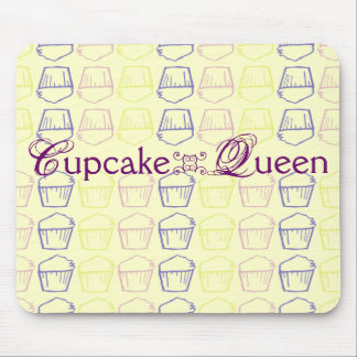 Cupcake Queen Mouse Pad