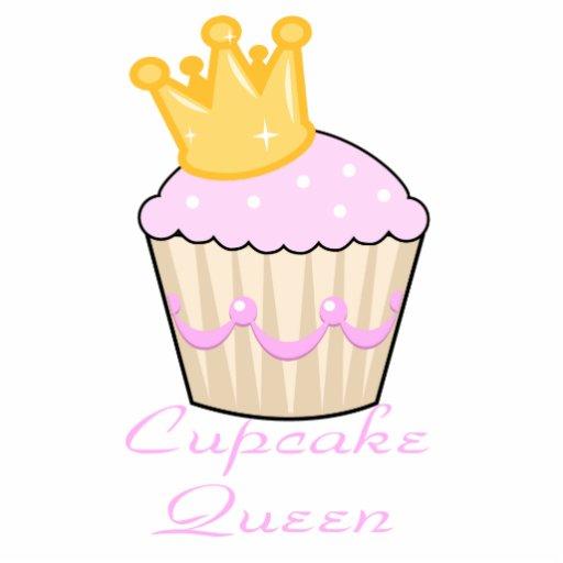 cupcake queen photo sculpture keychain
