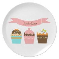Cupcake Queen - Plate