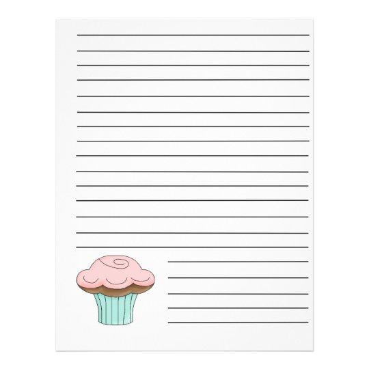 Cupcake Recipe Binder Pages