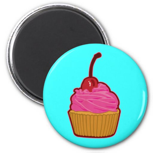 Cupcake Refrigerator Magnet