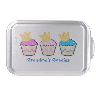 Cupcake Royalty Personalized Cake Pan