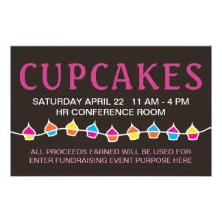 cupcake sale flyers