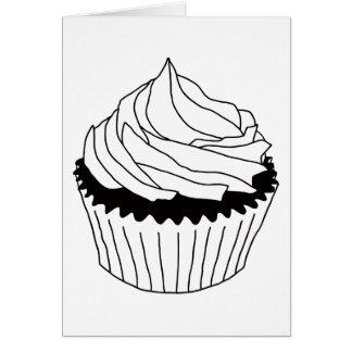 cupcake scribbles card