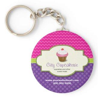 Cupcake Shop Keychain keychain