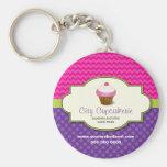 Cupcake Shop Keychain