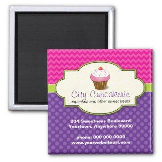 Cupcake Shop Promotional Magnet magnet