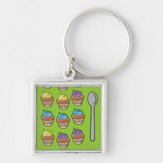 Cupcake Slots Keychain