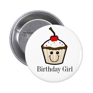 Cupcake Smile Face Buttons