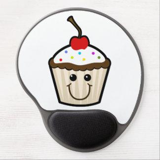 Cupcake Smile Face Gel Mouse Mats
