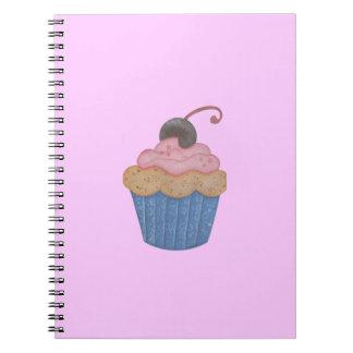 Cupcake Spiral Notebooks