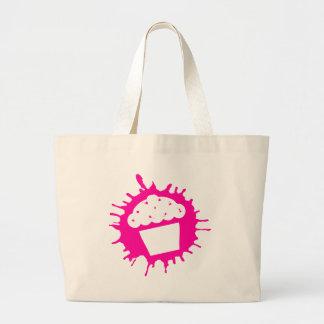 cupcake splatz canvas bags