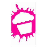 cupcake splatz Double-Sided standard business cards (Pack of 100)