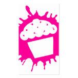 cupcake splatz business cards