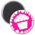 cupcake splatz magnet