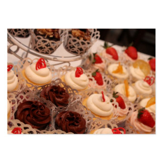 Cupcake Spread Large Business Cards (Pack Of 100)