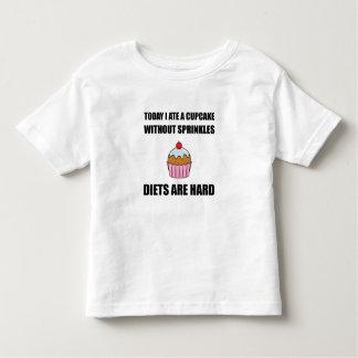 Cupcake Sprinkle Diets Hard Toddler T-shirt