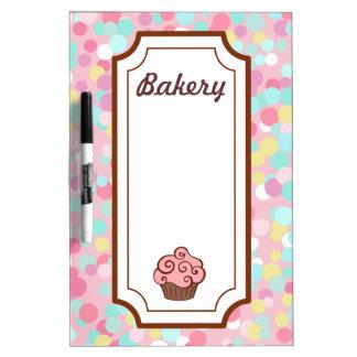 Cupcake Sprinkles Dry Erase Board