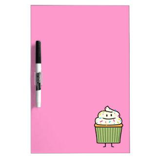 Cupcake Sprinkles vanilla icing sweet cup dessert Dry Erase Board
