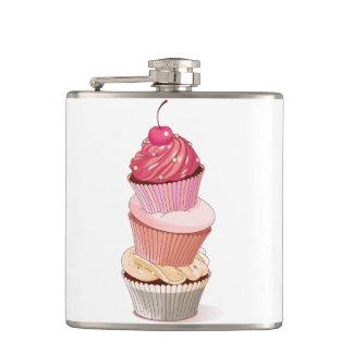Cupcake Stack Flask