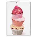 Cupcake Stack Note Cards