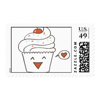 Cupcake Stamps by Anna
