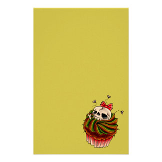 Cupcake Stationary Custom Stationery