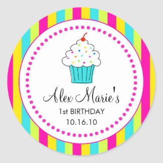 Cupcake Stickers / Favor Tags